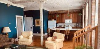 Attache Suite Living Room